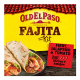 Old El Paso Fiery Jalapeño and Tomato Fajita Kit 500g