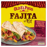 Old El Paso Roasted Tomato & Pepper Fajita the Kit 500g