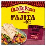 Old El Paso Roasted Tomato & Pepper Fajita the Kit 500g