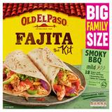 Old El Paso Smoky BBQ Fajita Kit Family Pack 750g