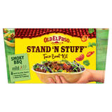 Old El Paso Stand 'N' Stuff Smoky BBQ Taco Boat Kit 350g