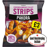 Iceland Pakora Chicken Breast Fillet Strips 600g
