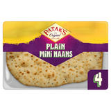 Patak's 4 Plain Mini Naans