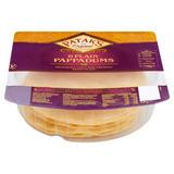 Patak's 6 Plain Pappadums 48g