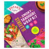 Patak's Tandoori Street Food Wrap Kit 440g