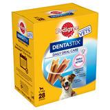 Pedigree Dentastix Daily Adult Small Dog Dental Treats 28 Sticks 440g