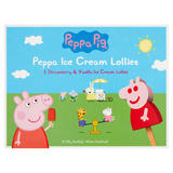 Peppa Pig Strawberry & Vanilla Ice Cream Lollies 6 x 32g (192g)