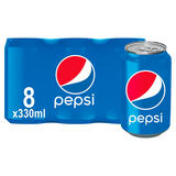 Pepsi Cola Can 8x330ml