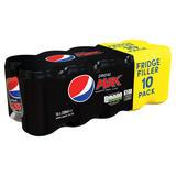Pepsi Max Cola 10 x 330ml