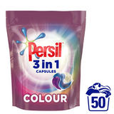 Persil 3in1 Colour Washing Capsules 50 Wash, 1350g