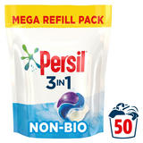 Persil Non Bio Laundry Washing Capsules 50 Wash 1.350 kg