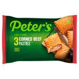Peter's 3 Corned Beef Pasties