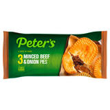 Peter's 3 Minced Beef & Onion Pies
