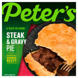 Peter's Steak & Gravy Pie