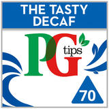 PG tips Decaffeinated 70 Tea Bags
