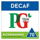 PG tips Decaffeinated Tea 70