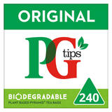 PG tips Original Biodegradable Tea Bags 160 + 50% Free