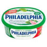 Philadelphia Garlic & Herbs Soft Cheese 340g