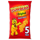 Pom-Bear Original Multipack Crisps 5 Pack
