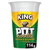 Pot Noodle Chicken & Mushroom King Pot 114 gr
