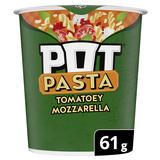 Pot Noodle Tomatoey Mozzarella instant hot snack 61g