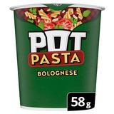 Pot Pasta Bolognese instant hot snack 58g