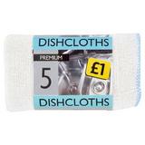 Premium 5 Dishcloths 30 x 35cm