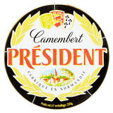 Président French Camembert Cheese 250g