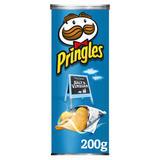 Pringles Salt & Vinegar Crisps, 200g