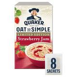 Quaker Oat So Simple Strawberry Jam Porridge 8x33.2g