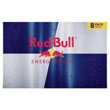 Red Bull Energy Drink, 250ml (8 Pack)