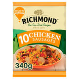 Richmond 10 Frozen Chicken Sausages 340g