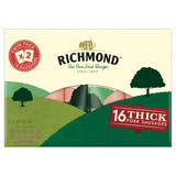 Richmond 16 Thick Pork Sausages 2 x 410g