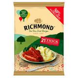Richmond 21 Thick Frozen Sausages 903g
