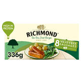 Richmond 8 Thick Frozen Meat Free Sausages