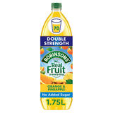 Robinsons Double Strength Orange & Pineapple No Added Sugar Fruit Squash 1.75 L