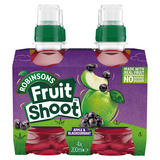 Robinsons Fruit Shoot Apple & Blackcurrant 4 x 200ml