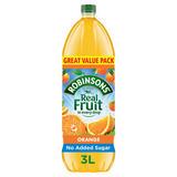 Robinsons Orange No Added Sugar Squash 3L