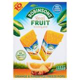 Robinsons Orange & Pineapple Freeze Pops 10 x 62ml (620ml)