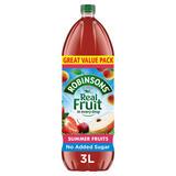 Robinsons Summer Fruits No Added Sugar Squash 3L