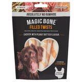 Rosewood 6 Magic Bone Filled Twists Chicken with Peanut Butter Flavour 195g