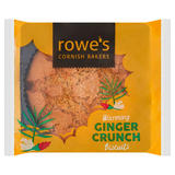 Rowe's Cornish Bakers Warming Ginger Crunch Biscuits 160g