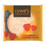 Rowe's Crunchy Strawberry & Cornish Cream Biscuits 200g