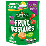 Rowntree's Fruit Pastilles Vegan Friendly Sweets Sharing Bag 143g