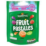 Rowntree's Fruit Pastilles Vegan Friendly Sweets Sharing Pouch 143g