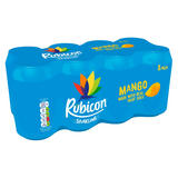 Rubicon Sparkling Mango Juice Drink 8 x 330ml