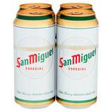 San Miguel Premium Lager Beer 4 x 440ml
