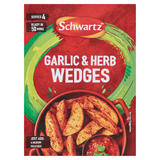 Schwartz Garlic & Herb Wedges Recipe Mix 38g