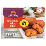 Shazans 10 Bite Size Aloo Tikki 200g