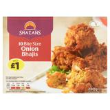 Shazans 10 Bite Size Onion Bhajis 200g